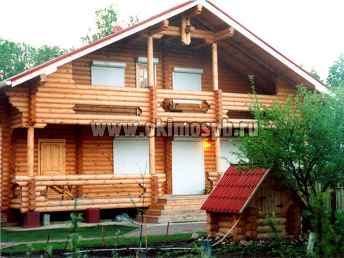 Проект деревянного дома Финский дом Окимо - строительство домов в...