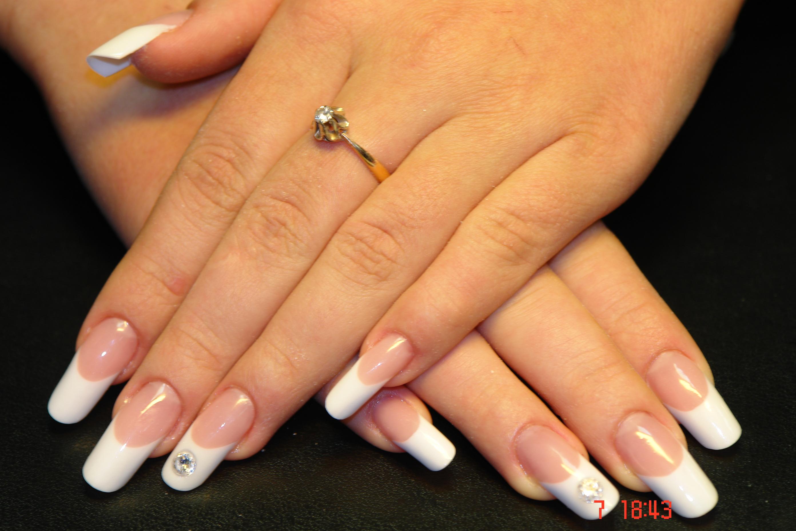 Нарощенные ногтей пайп