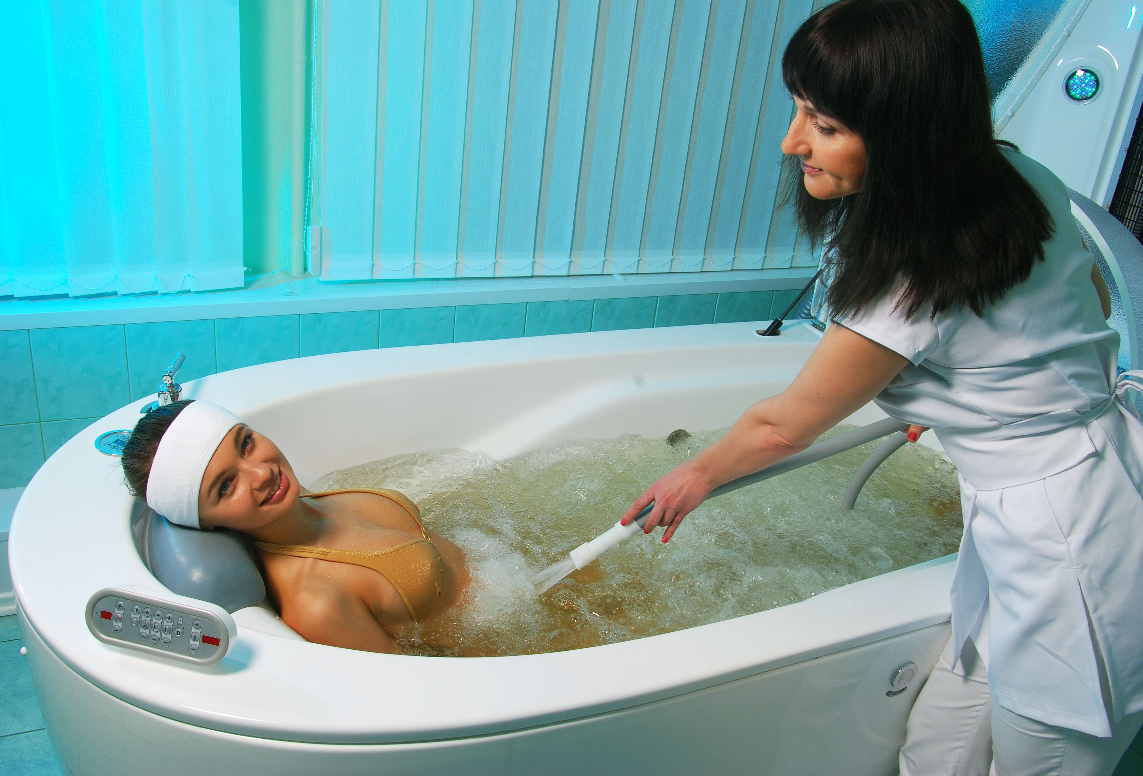 Струей в ванной 2 фотография