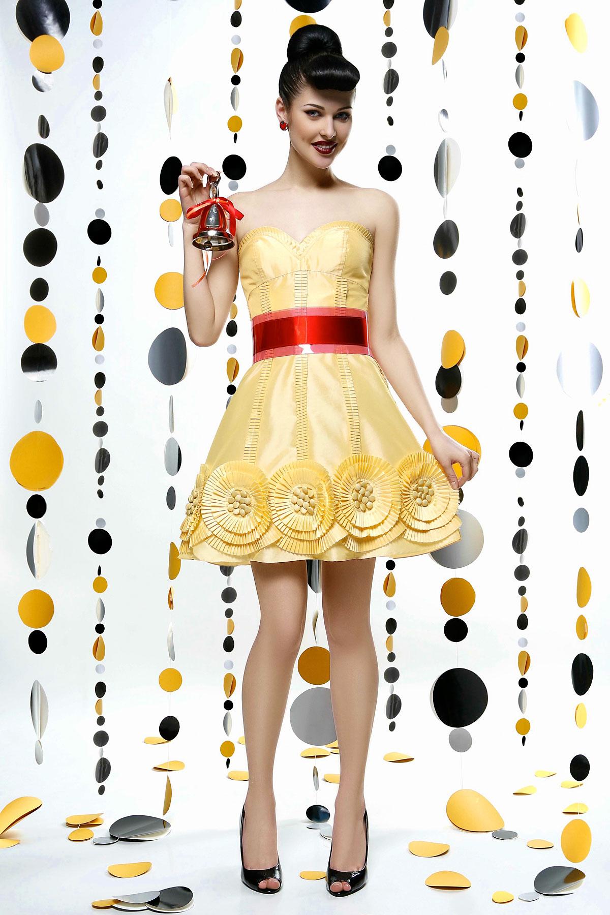 Выбирая цвет платья для выпускного
