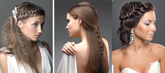 Как плести греческую косу - Женские видео уроки онлайн. zhezel.ru...