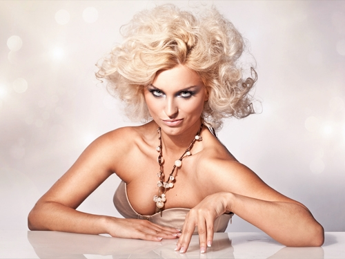 роскошная платиновая блондинка фото