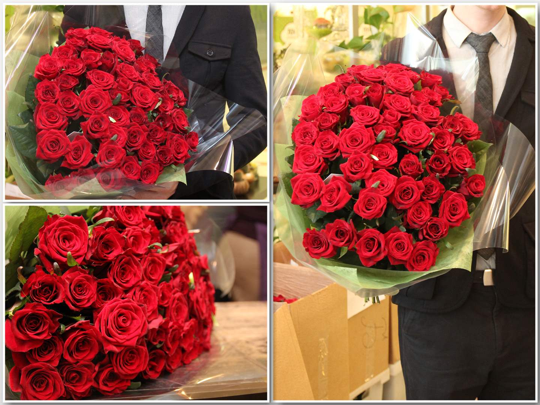 Сонник букет красных роз подарок 95