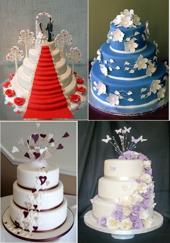 Свадебные торты на заказ фото