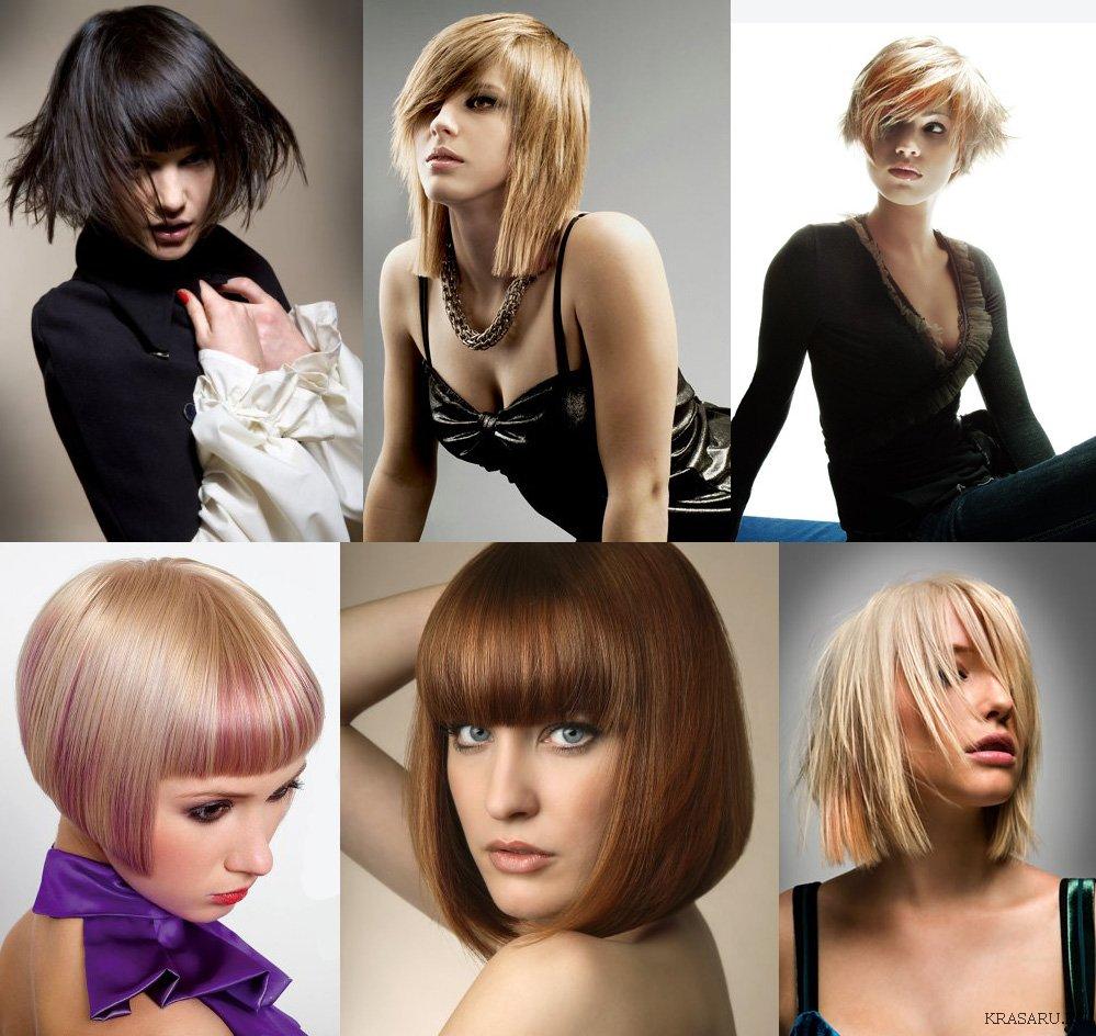 """Прически для волос средней длины из разряда  """"на каждый день """" должны быть простыми в укладке, удобными и  """"стойкими """" к..."""