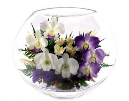 Цветы в вакууме в спб