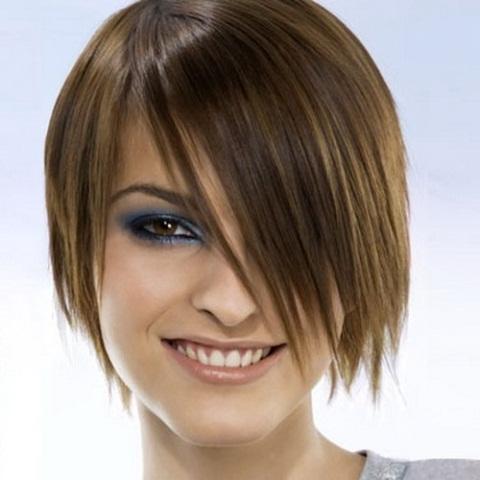 стрижка круглое лицо для женщины лет.