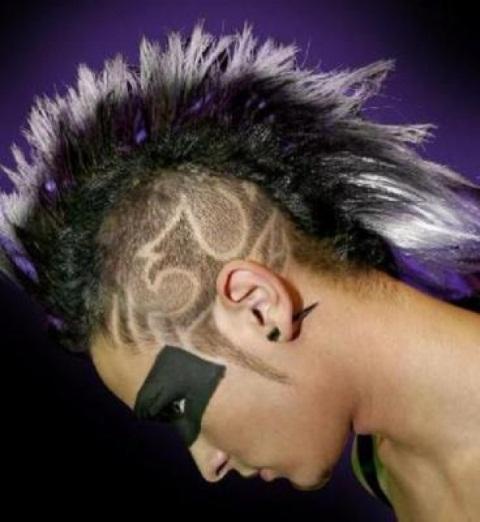 Рисунки на голове волосами машинкой фото