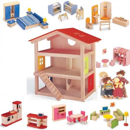 Как сделать дом из кубиков для кукол