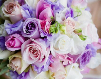 Живые цветы букеты