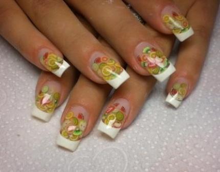 аквариумный дизайн ногтей фото: