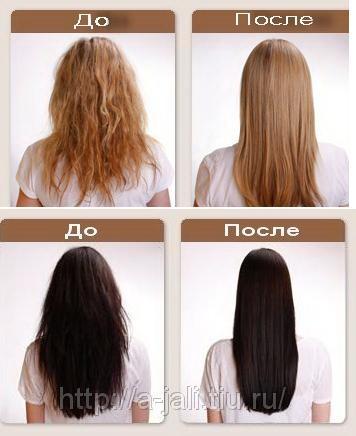 Био выпрямление волос пришло к нам из стран Запада, где успело